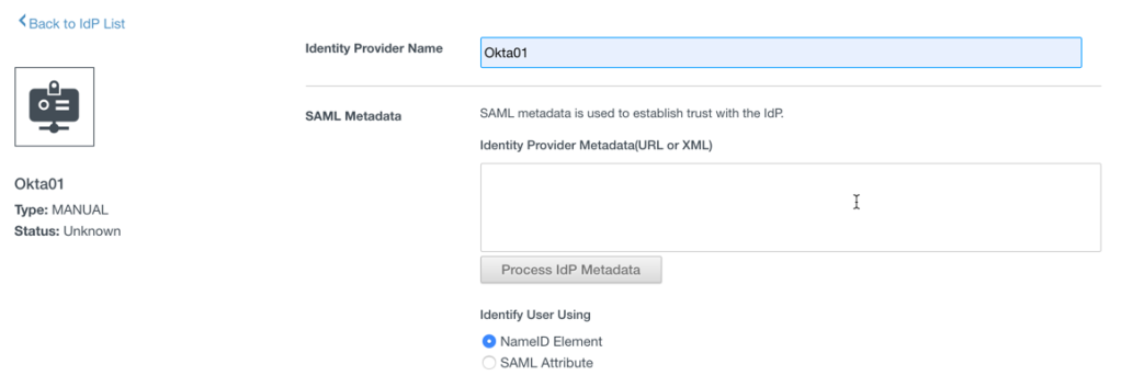 Setting Up Federated Identity Management for VMC on AWS